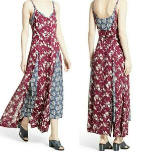 Cinq a Sept Nathalia Floral Print Maxi Dress